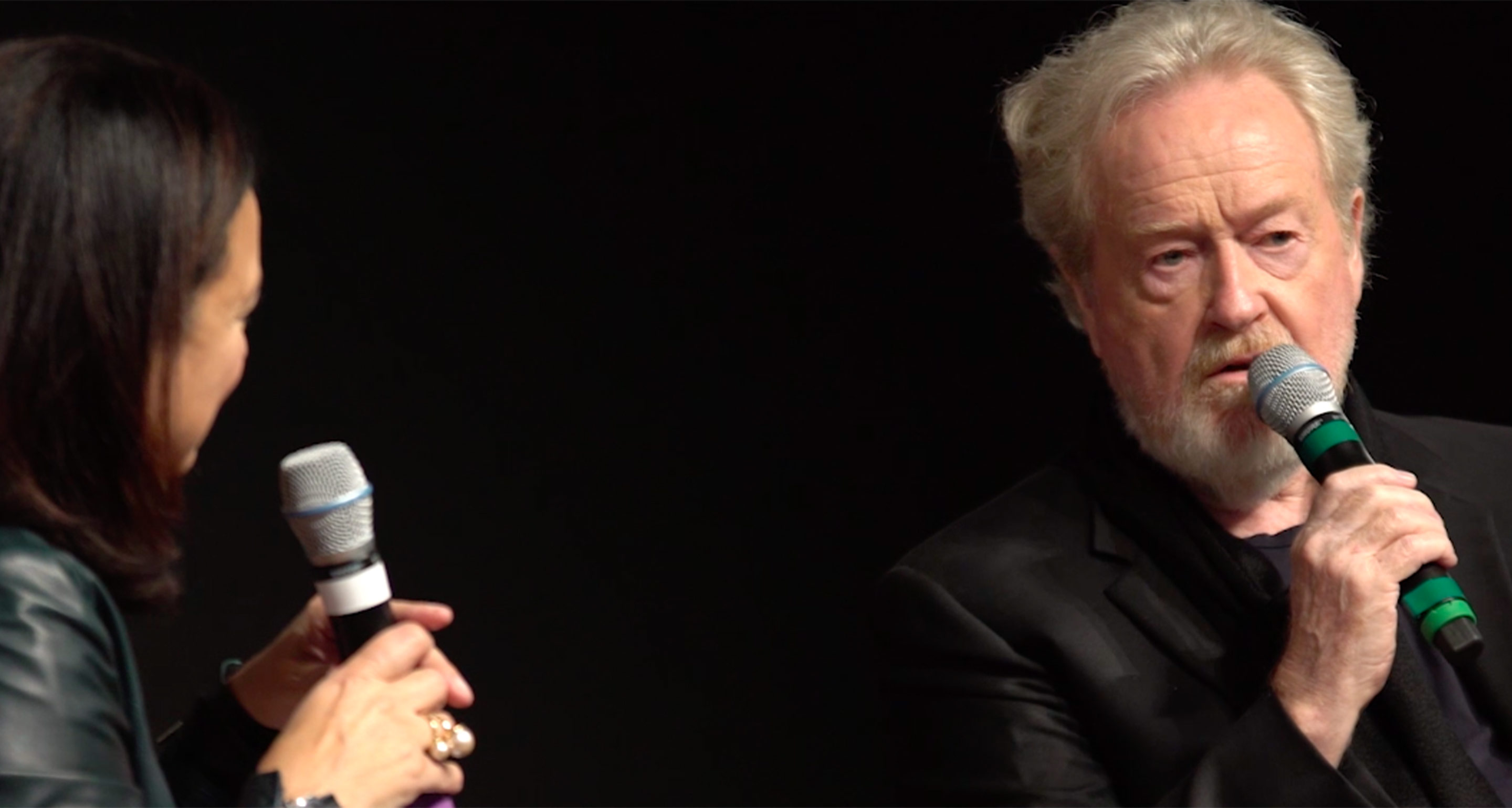 Sir Ridley Scott shares his vision of creativity